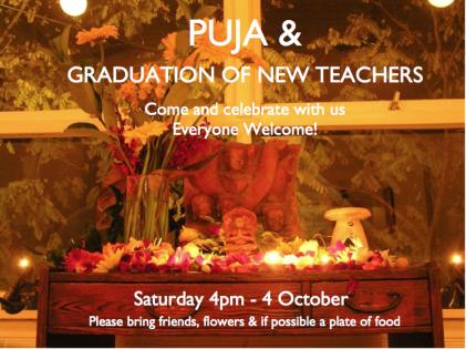 puja & graduation ceremony NSY