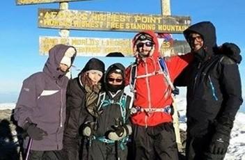 suchitra on kilimanjaro